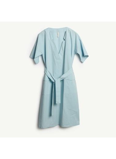 Yargıcı Elbise Mavi